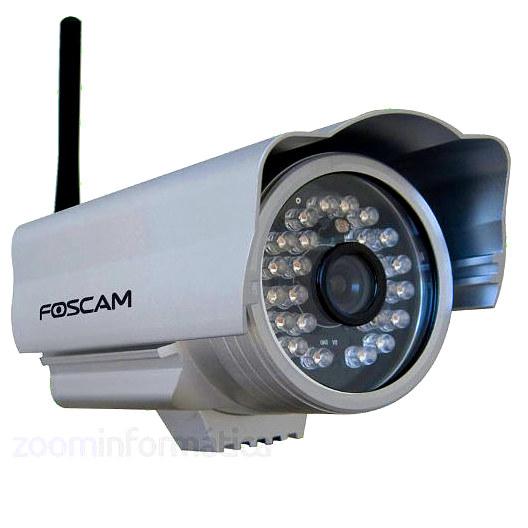 Foscam FI8904W Camara de seguridad Exterior WiFi VGA Reacondicionada