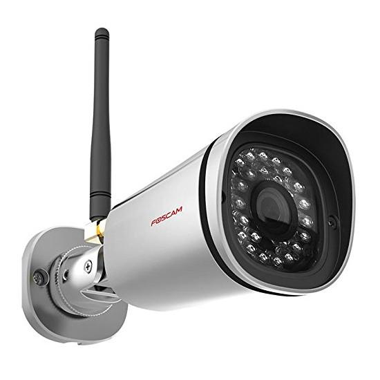 Foscam FI9900P Camara de seguridad IP WiFi P2P Full HD EZLINK Vision nocturna Reacondicionada