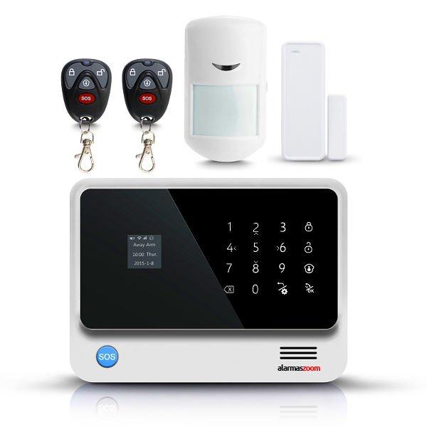 Alarma Hogar WiFi G90B GSM Proteccion Casas Sin Cuotas Blanca Reacondicionada