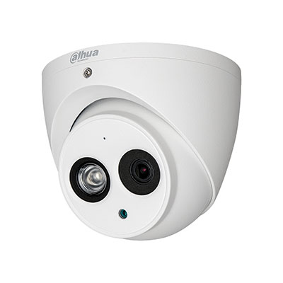 Dahua HAC HDW1200EM A 0280B Camara CCTV HDCVI Domo 4 en 1 2Mpx 1080P IR 50 metros IP67 Microfono