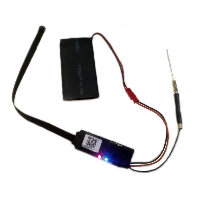 OTROS CAMARA ESPIA CON BATERIA Camara espia con bateria y transmision inalambrica P2P