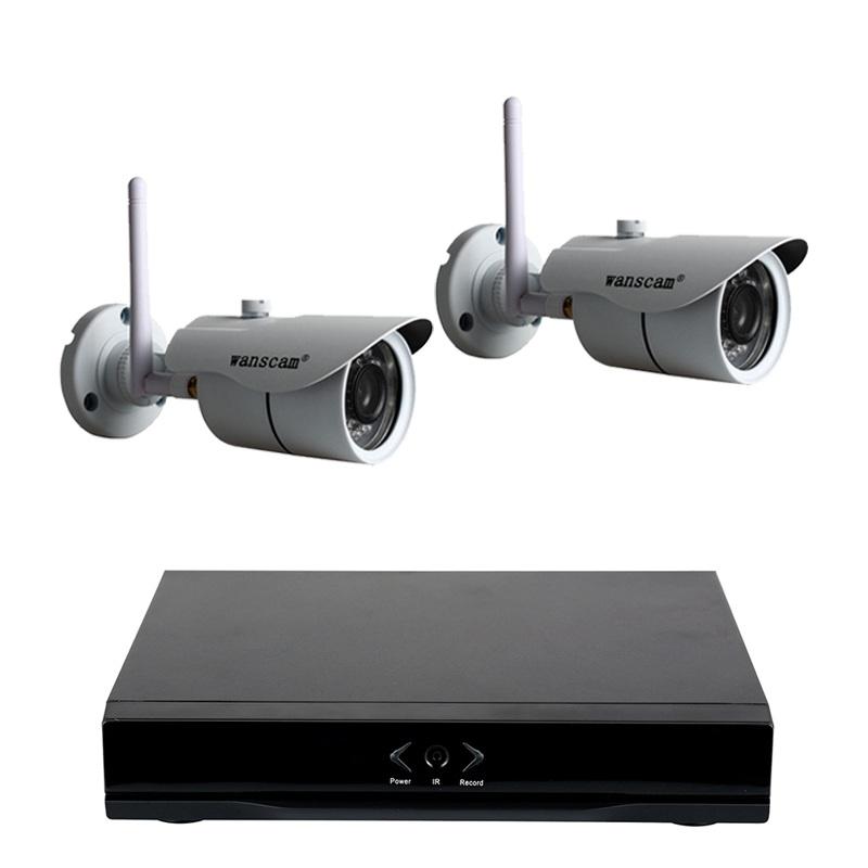 Grabador NVR Wanscam HL0162  2 HW0043