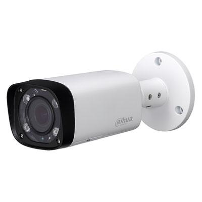 DAHUA IPC HFW2431R ZS IRE6 Camara IP compacta DAHUA de 4 megapixels para interior/exterior con proteccion ip67. Vision nocturna 60 m y zoom optico de 5x . Grabacion en SD y PoE