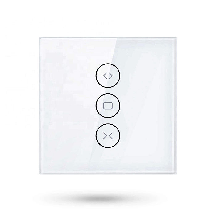 Interruptor de pared con botones cortina conexion WiFi Tuya Smart