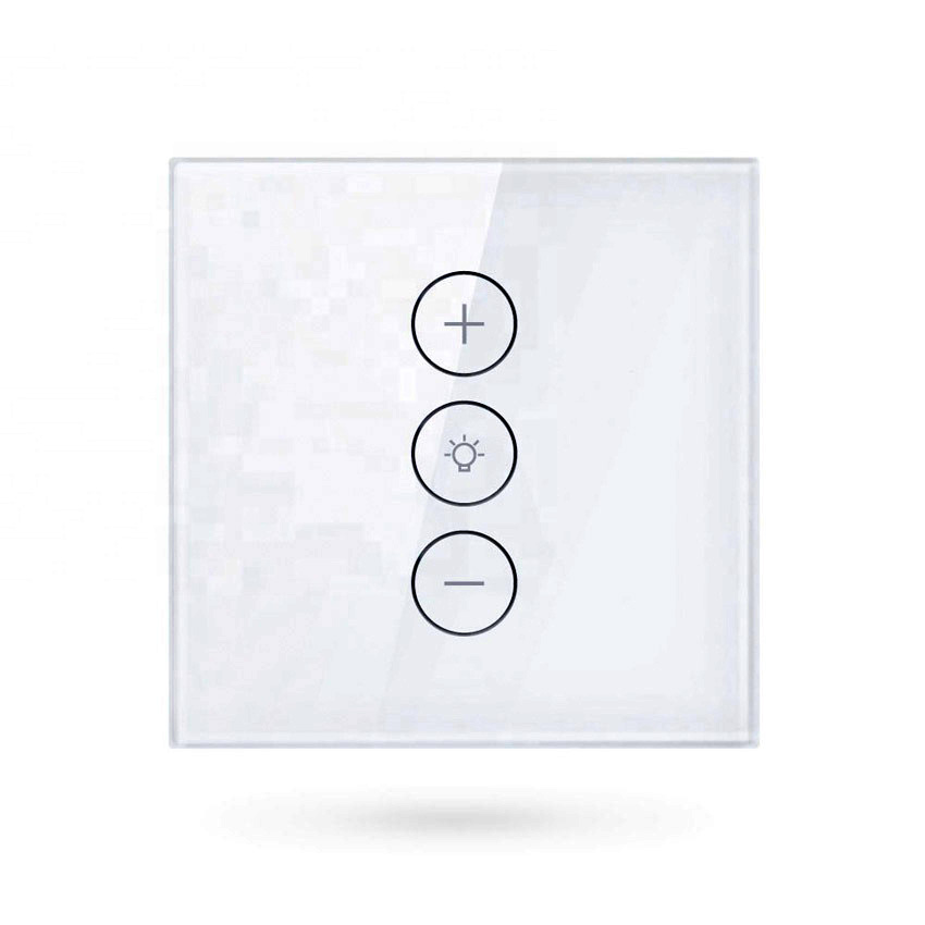 Interruptor de pared para luces con ajuste de brillo WiFi