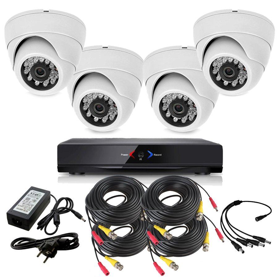 CCTV Grabador DVR AHDK021 4 Camaras interior HD 720p