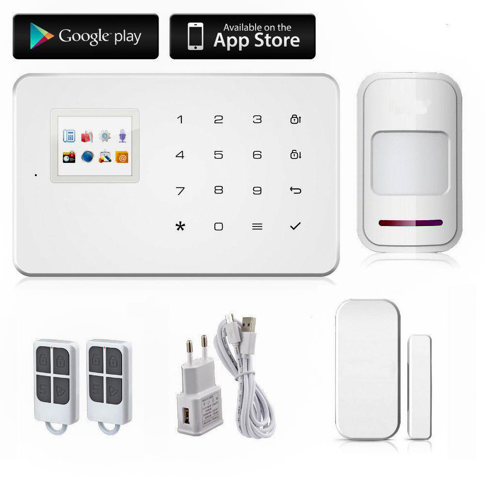 Kerui KR-G18 KR-G18 Kerui Alarma Kerui G18 GSM para la seguridad en el hogar y evitar robos