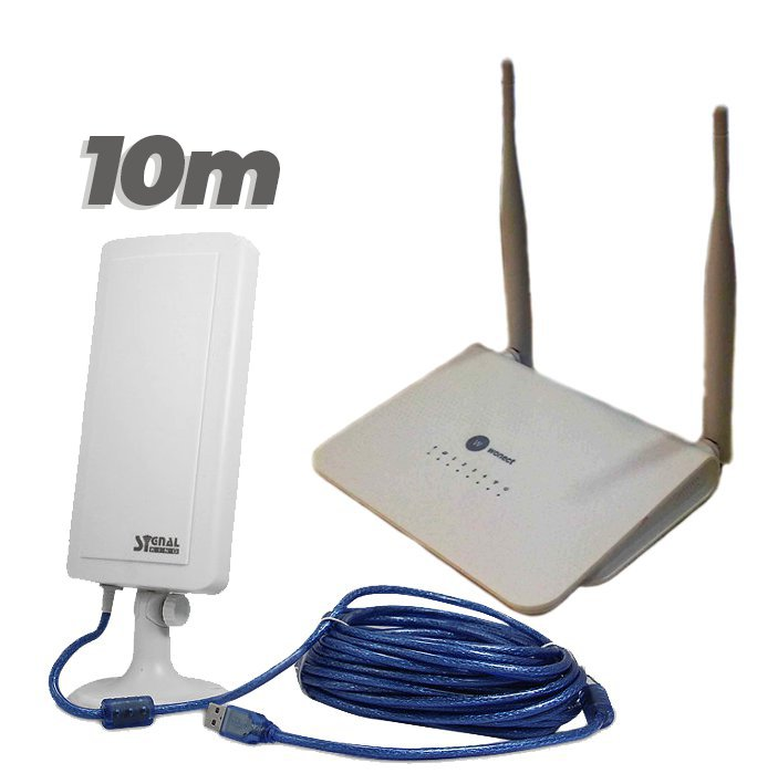 Wonect R658A Router repetidor USB Antena WiFI Signal King 12TN 10 metros
