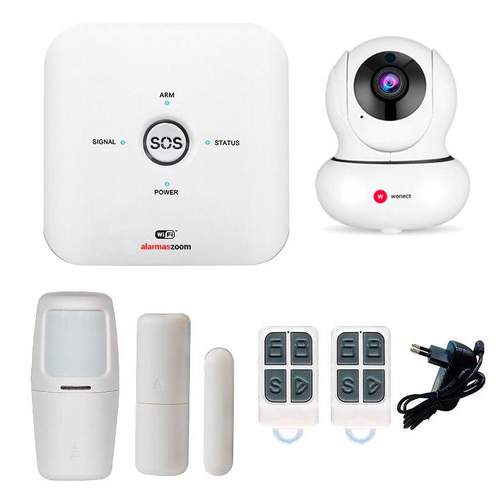 Alarma AZ038 WiFi GSM con camara de vigilancia IP Full HD