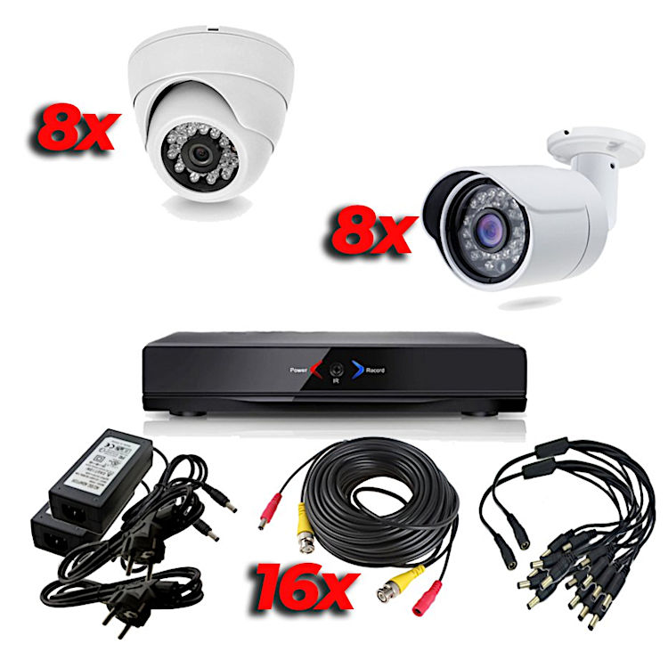 WONECT KIT AHD113D CCTV AHDK056