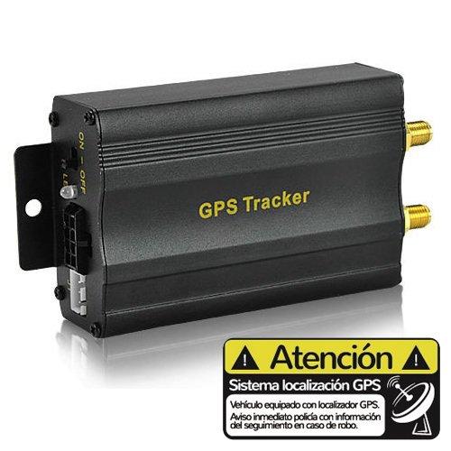 Localizador GPS para coche sin cuotas TK103A