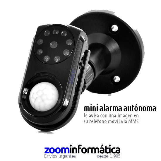 ALARMAS HOGAR OUTLET alarmas-zoom ALARMAS ZOOM GSM AVISO MOVIL MEDIANTE MMS REACONDICIONADO
