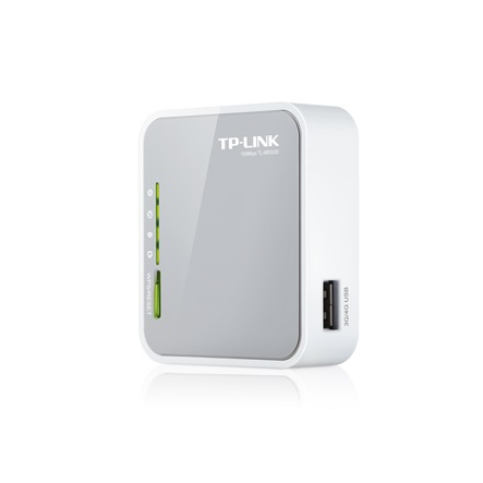 Tp Link TL MR3020 Router WiFi N 3G 4G USB