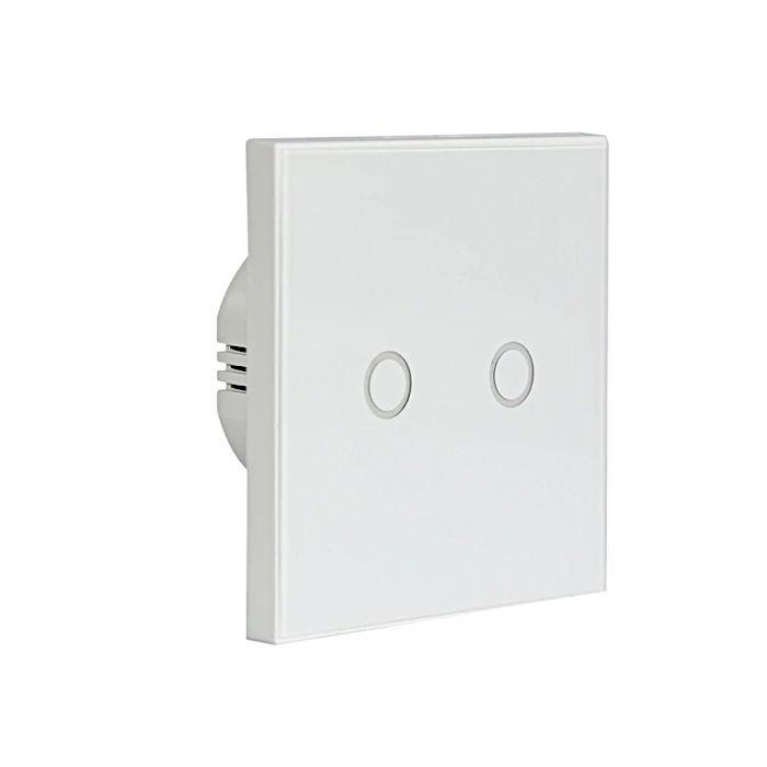 NeoCoolCam NAS SC02W Interruptor pared WiFi Tactil Domotica 2 Salidas
