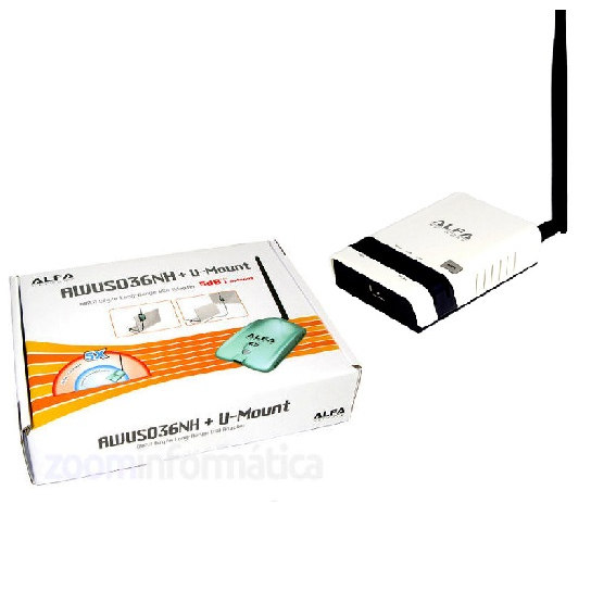 Kits WIFI Alfa network AWUS036NH R36 ALFA