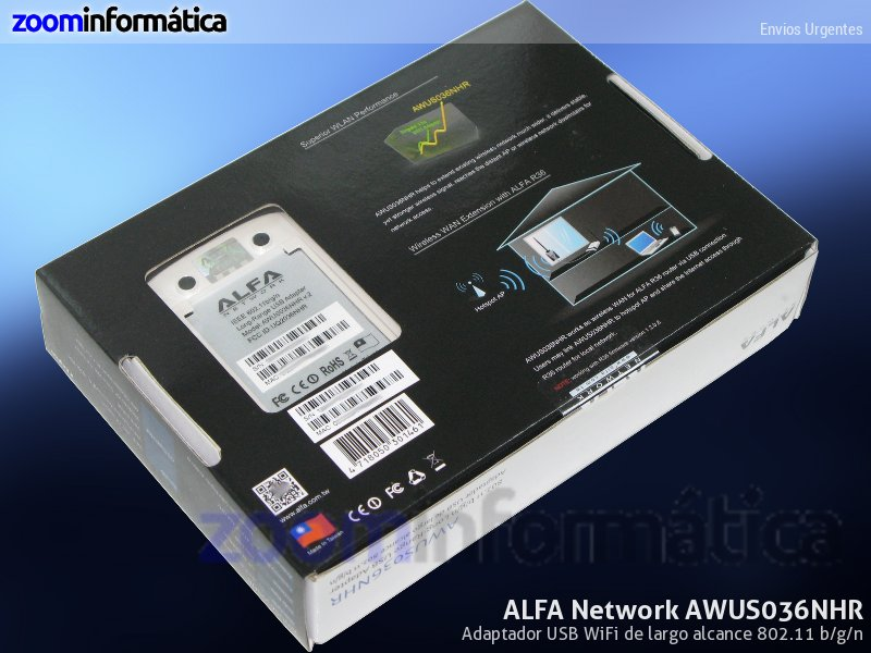 Alfa network AWUS036NHR-R