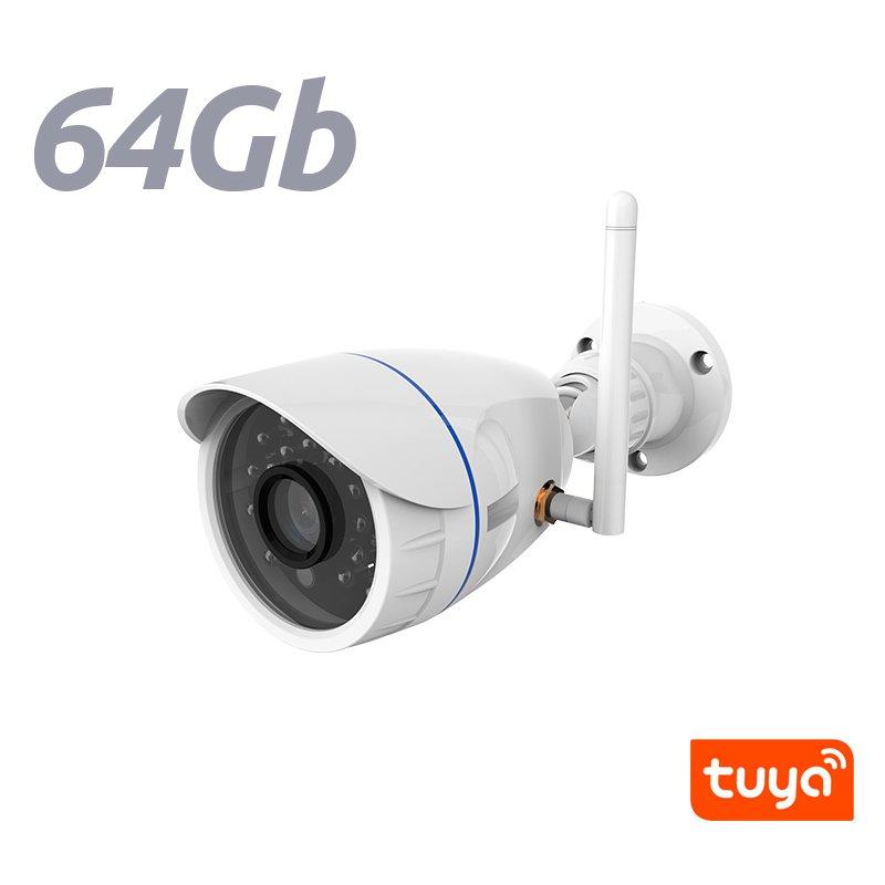 NeoCoolCam NIP 56AI Camara IP Exterior WiFi Fija HD 720p APP Tuya Smart Memoria 64Gb