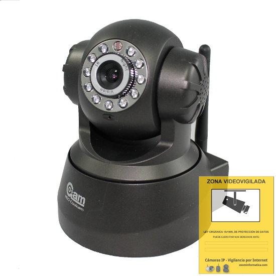 Kits de seguridad alarmas de hogar sin cuotas for Camara vigilancia exterior