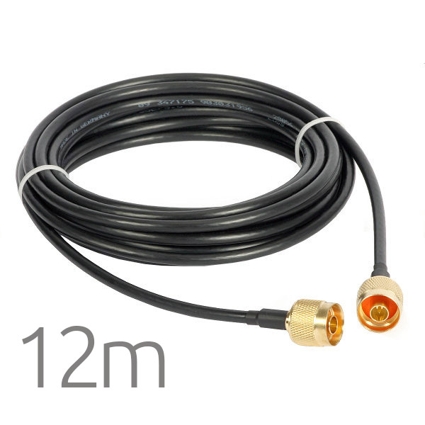 Cable Pigtail N Macho a N Macho 12 metros