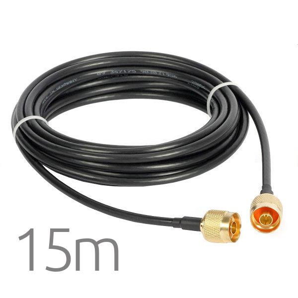 Cable Pigtail N Macho a N Macho 15 metros