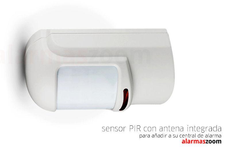 Sensor de movimiento para alarma con antena oculta - Sensores de movimiento con alarma ...