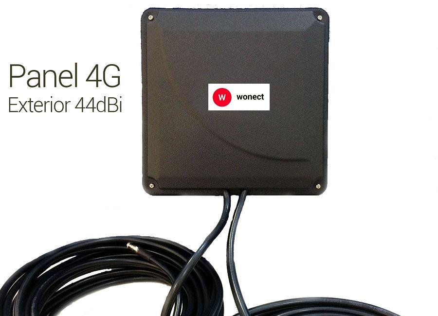 Wonect Panel 4G 44dBi 10m FME