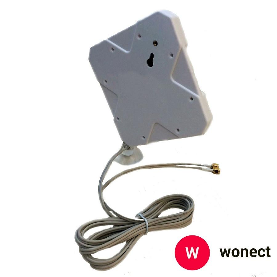 Wonect Panel 24dbi 4G ventosa