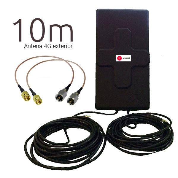 WONECT 4G 50DBI 10M SMA R Outlet Antenas 4G Outlet