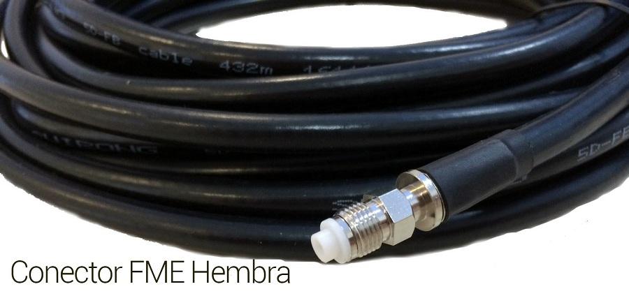 Wonect 4G 50dBi 15m FME SMA B