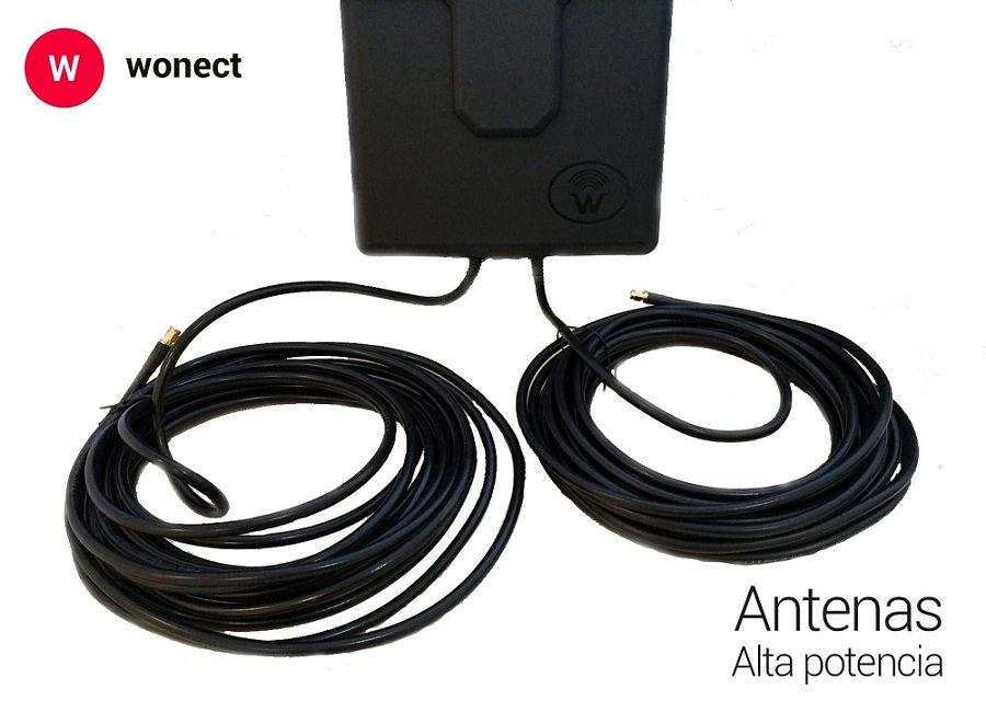 Wonect Panel WiFi 50dbi MIMO 10m