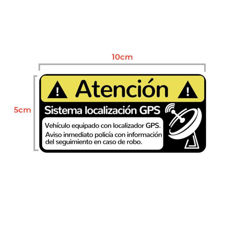 Alarmas-zoom Pegatina GPS