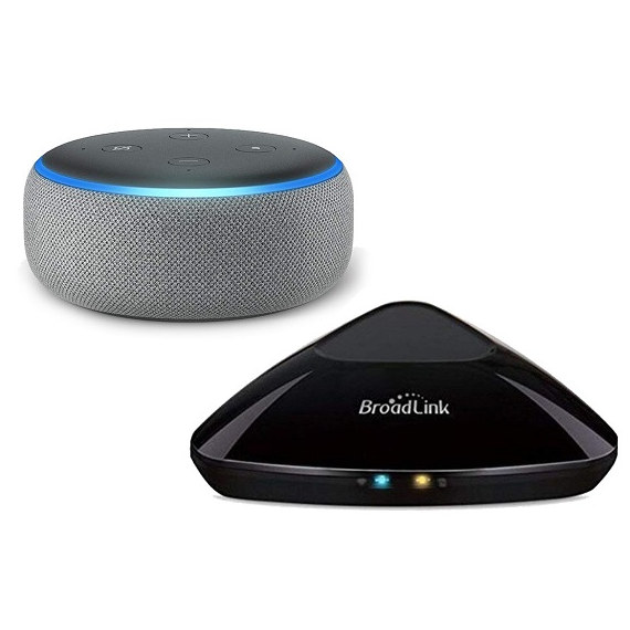 Broadlink RM PRO Domotica mando distancia universal Incluye Amazon Echo Dot