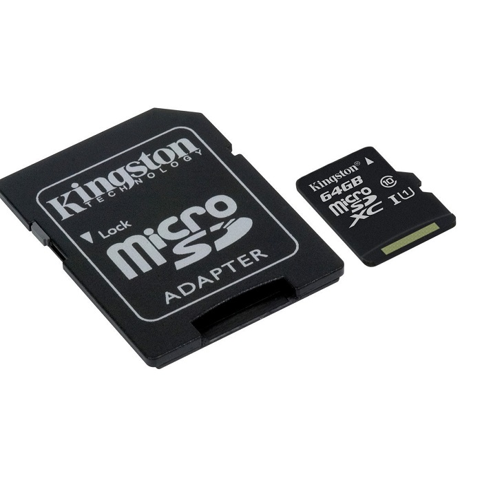 KINGSTON SDC10 64GB Tarjeta de memoria micro SD 64Gb Clase 10 Kingston