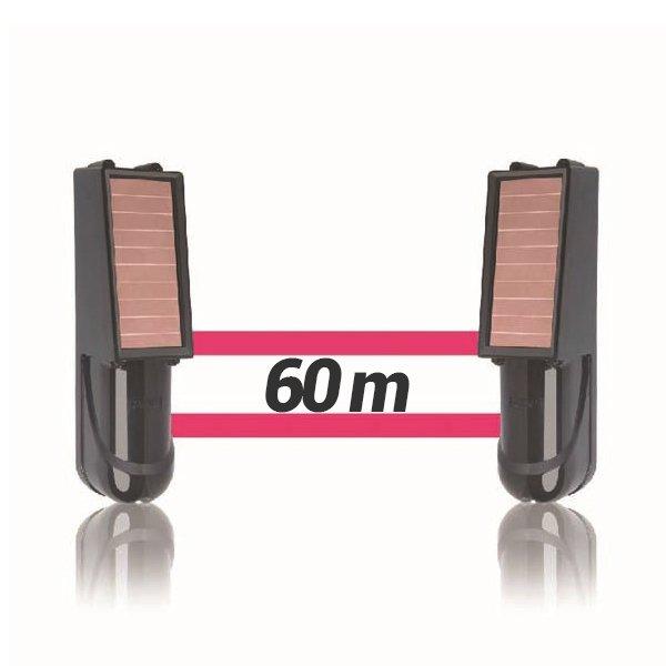 Alarma perimetral 60M foto electrica Baterias Placa Solar Baterias SIB060