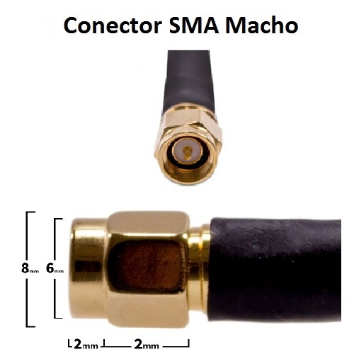Otros PANEL 3G V SMA 3M