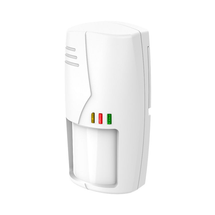 Detector de movimiento interior anti mascotas triple tecnologia FHSS 433Mhz 603