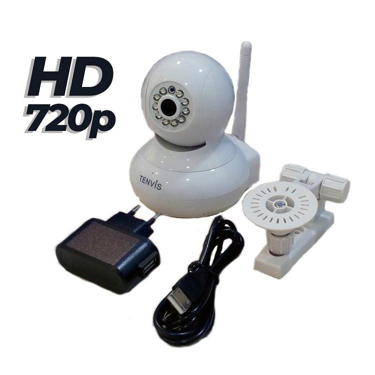 Tenvis T8818 W Camara IP WiFi T8818 videovigilancia HD 720p Blanca