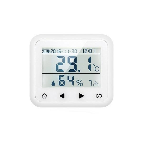 Sensor inalambrico temperatura humedad Alarma hogar TD2