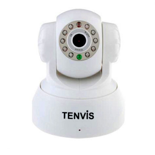 TENVIS 3815W W R CAMARA IP TENVIS WIFI PARA PC IOS REACONDICIONADA ANDROID ip3815w 3815wWEBCAM CAMERA BEBE BLANCO