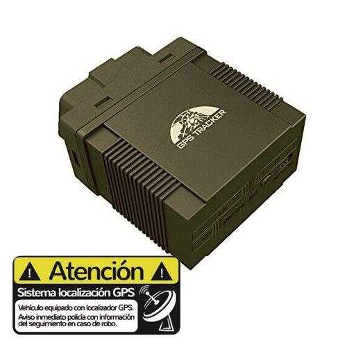 Localizador GPS vehiculos Conexion OBD2 TK306A