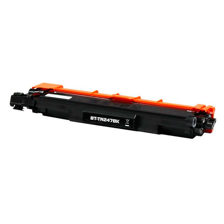 Toner compatible para Brother TN 247 BK Negro