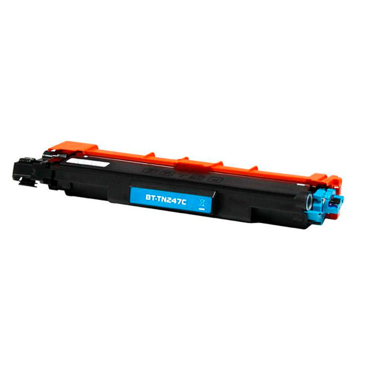 Toner compatible para Brother TN 247 C Cian