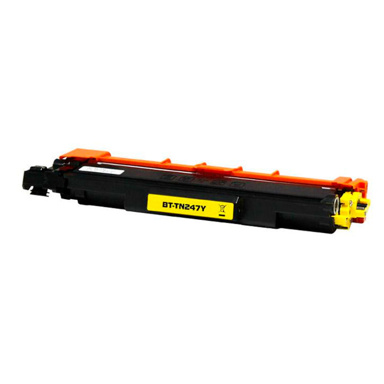 Toner compatible para Brother TN 247 Y Amarillo