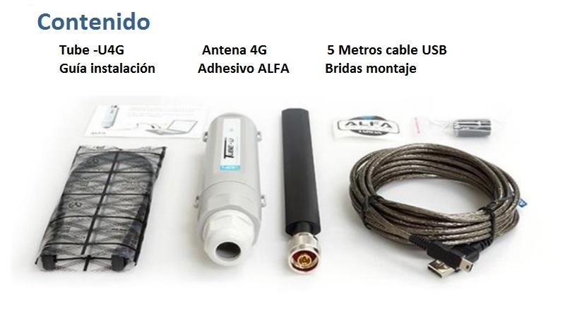 Alfa network Tube-U4G