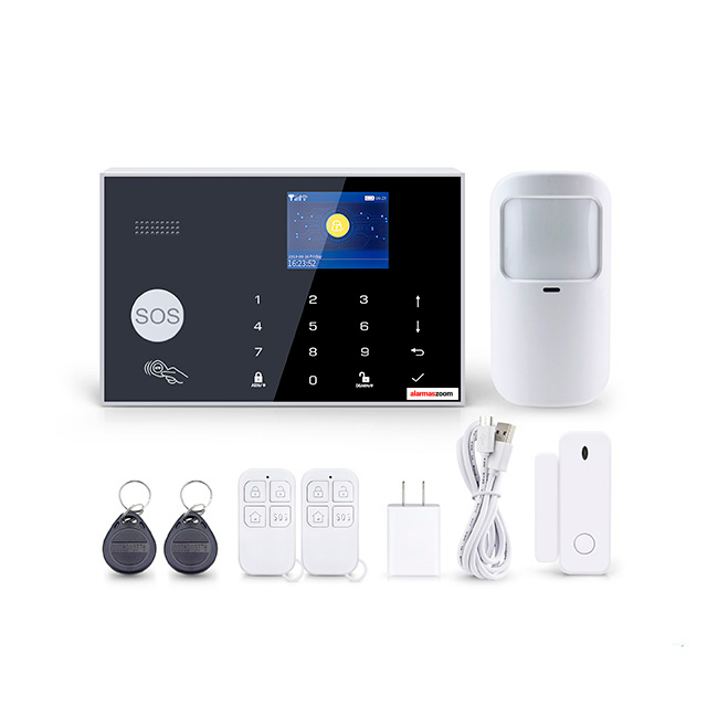 Tuya Smart Alarma WiFi GSM compatible Amazon Alexa Google Home AZ044