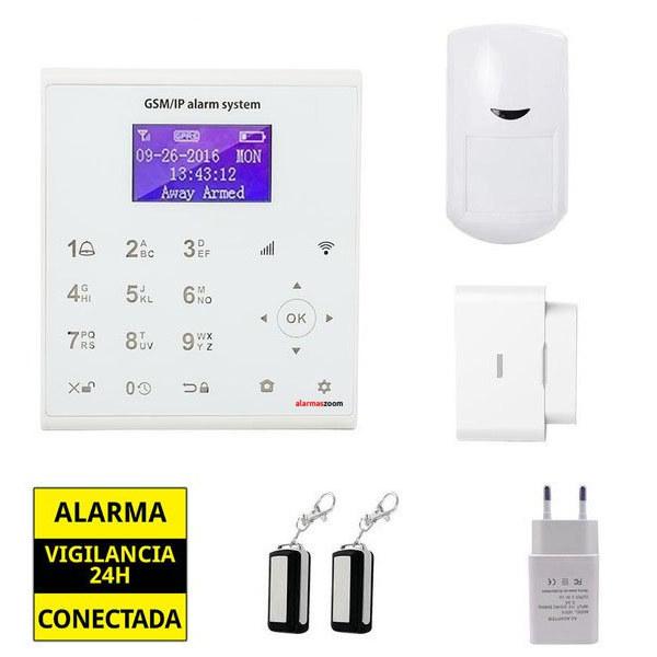 alarmas-zoom AZ0U8 Alarma hogar WiFi sin cuotas AZ0U8