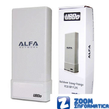 ALFA NETWORK UBDO-GT8 R Outlet Antenas WiFi Outlet