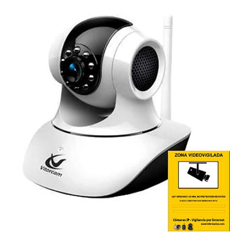 Vitorcam CA PT12WP Camara IP WiFi P2P VGA Videovigilancia