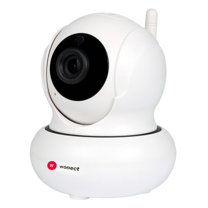 Wonect Camara IP WiFi mini interior FULL HD 1080p Motorizada con vision nocturna audio P2P W21 3