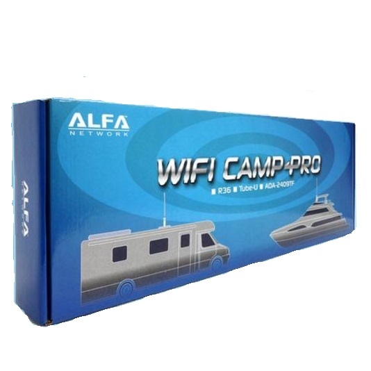 ALFA WiFi Camp PRO N Tube U N RT3070 con repetidor R36